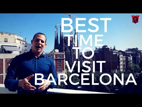 Best time to visit barcelona