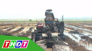 THDT - Nông dân Tam Nông chế tạo máy đào mương, lên liếp trồng màu