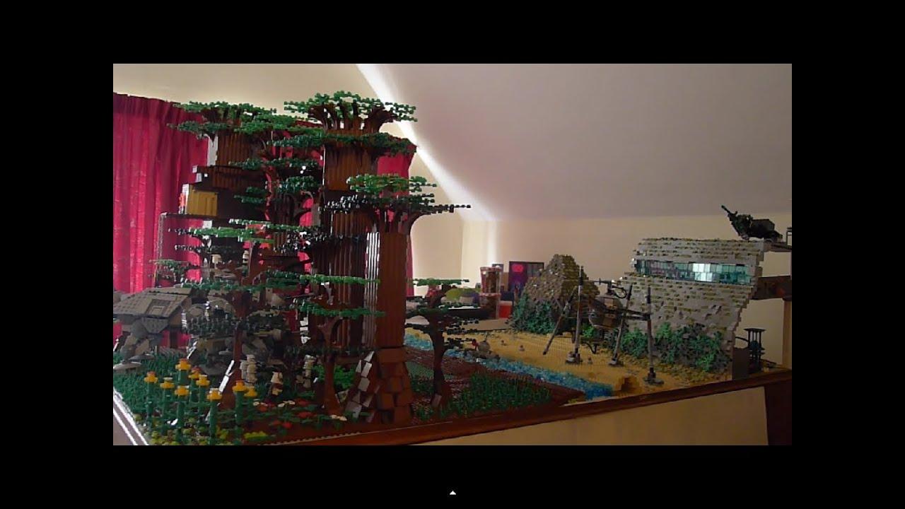 Lego star wars ambushing droid base on alderaan youtube - Lego star wars base droide ...