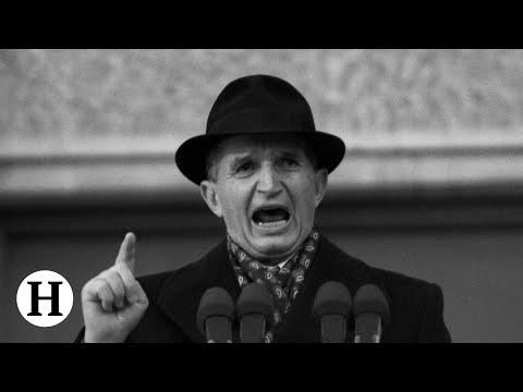 Upadek dyktatora Rumunii  (Drastyczne zdjęcia) 18+