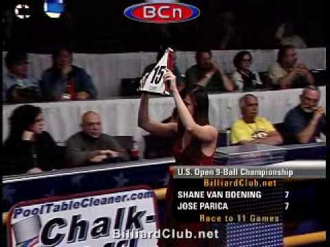 Pro Championship 9-Ball Action: Shane Van Boening vs. Jose Parica  GREAT ENDING