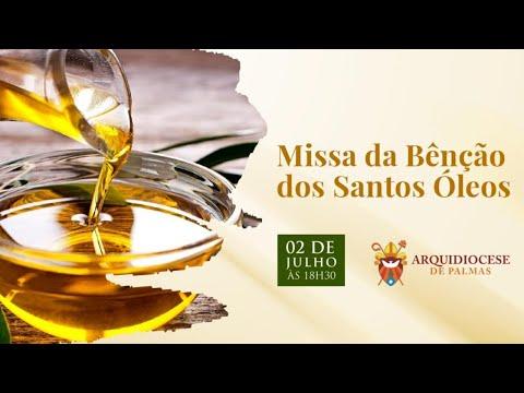 Missa da Bênção dos Santos Óleos 02072020