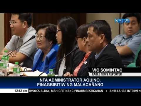 Malacañang advises NFA Administrator, officials to resign if they cannot serve the public