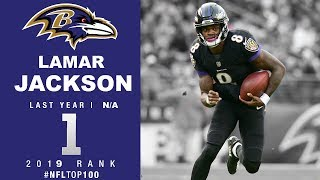 #1: Lamar Jackson (RB, Ravens) | T๐p 100 Players of 2019 | NFL