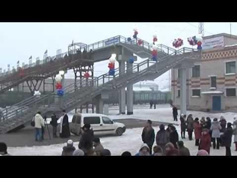 На станции Шахунья открыт переход через ж/д пути