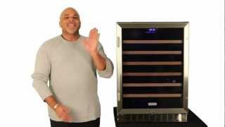 Edgestar 53 Bottle Built-in Wine Cooler- Cwr531sz