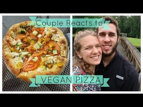 Mellow Mushroom VEGAN PIZZA // Couple Reacts!