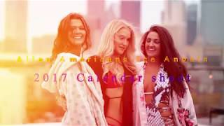 Allen Americans Ice Angels 2017 Calendar photoshoot
