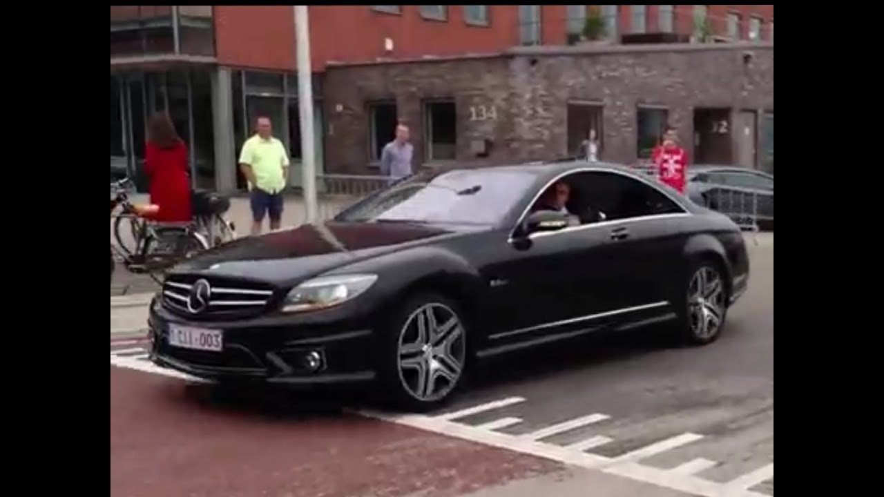 MercedesBenz CL63 AMG Loud Acceleration HD  YouTube