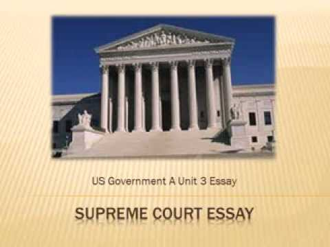 Romeo And Juliet Essay Thesis Us Government A Supreme Court Essay Thesis Example For Compare And Contrast Essay also How To Write Proposal Essay Us Government A Supreme Court Essay  Youtube Essay On Science And Religion