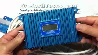 Amplificador y Repetidor de cobertura GSM Movil en MovilTecno.com