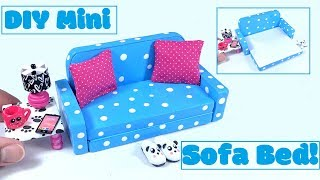 DIY Miniature Sofa Bed (Pull Out Couch)