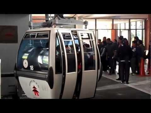 Cablecar in mankamana nepal मनकामना केबलकार
