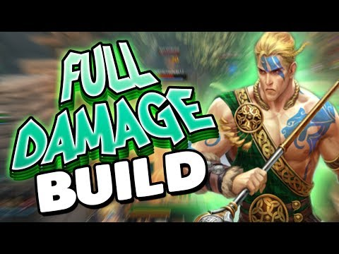 Smite: Cu Chulainn Full Damage Build - ITS TIME TO RAGE!