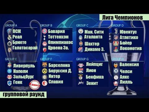 В Лиге Чемпионов определились все участники 1/8 финала. Обзор результатов 6 тура. Итоговые таблицы.