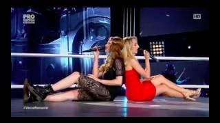 Ioana Ignat vs Corina Cuniuc (Take Me to Church) - Vocea Romaniei 2016