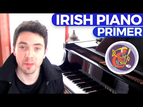 Irish Piano Lesson: Learn 'The Hole in the Hedge' (Jig) - Melody & Accompaniment