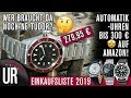 AUTOMATIKUHREN BIS 300€ AUF AMAZON   MEINE EINKAUFSLISTE 2019