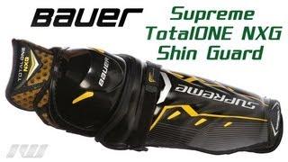 Bauer Supreme TotalONE NXG Shin Guard Review