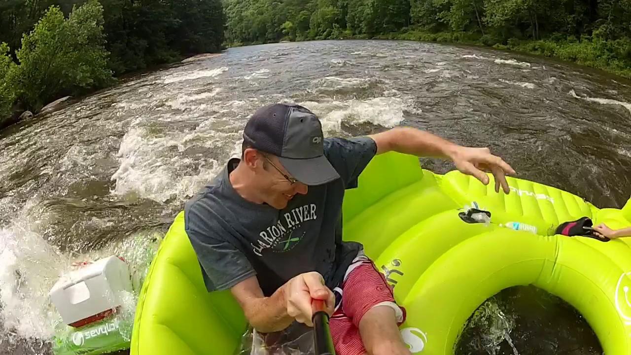 Clarion River Tubing, Pennsylvania (June 2017)