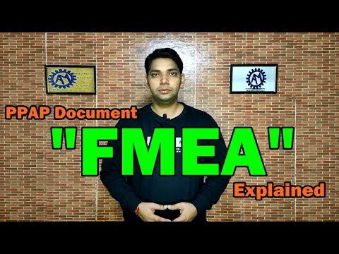 Download Failure Mode and Effects Analysis ! FMEA !! PPAP Document !!! ASK Mechnology !!!!