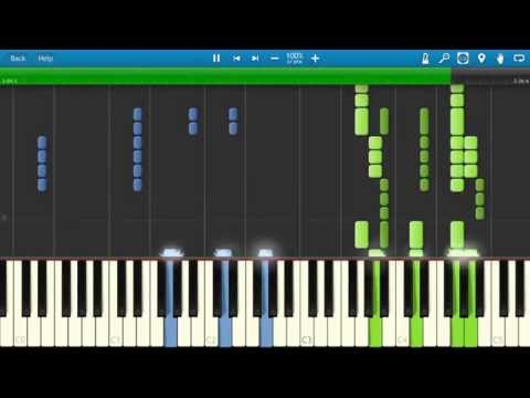 Requiem For A Dream OST (Clint Mansell - Summer Overture) [Piano Tutorial] Synthesia