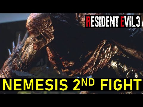 How To Defeat Nemesis In Clock Tower Plaza   Resident Evil 3 Remake (Stage 2 Nemesis Boss Fight)