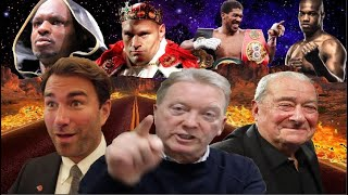 The game of roulette to control the Undisputed fight between Eddie Hearn, Bob Arum & Frank Warren!!
