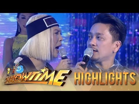 It's Showtime Miss Q & A: Jhong and Vice Ganda fight over Greg