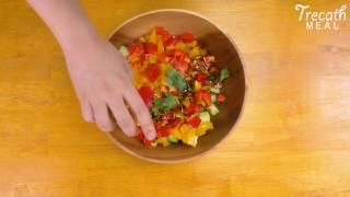 【Trecath MEAL】キヌアのチョップドサラダ