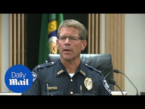 FBI holds press conference on Washington state mall shooting - Daily Mail