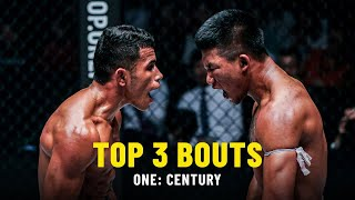 Top 3 Bouts From ONE: CENTURY   ONE Highlights