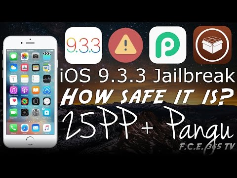 How Safe Is iOS 9.3.3 Pangu + 25PP Chinese Assistant Jailbreaking? (Must Watch!)