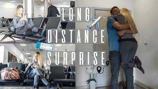 LONG DISTANCE SURPRISE | ARAB COUPLE