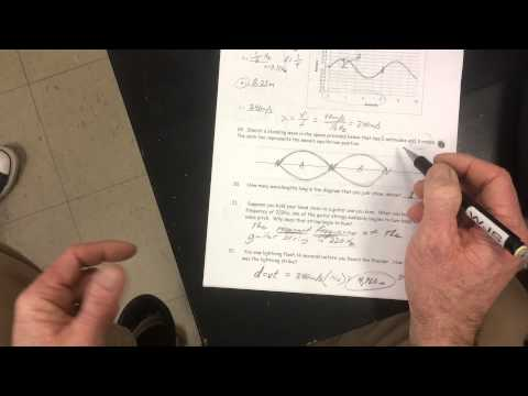 Physics 100 -- Mechanical Waves Practice Test