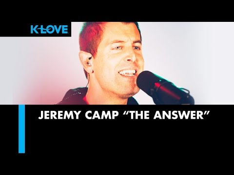 "Jeremy Camp ""The Answer"" LIVE at K-LOVE Radio 🎵"