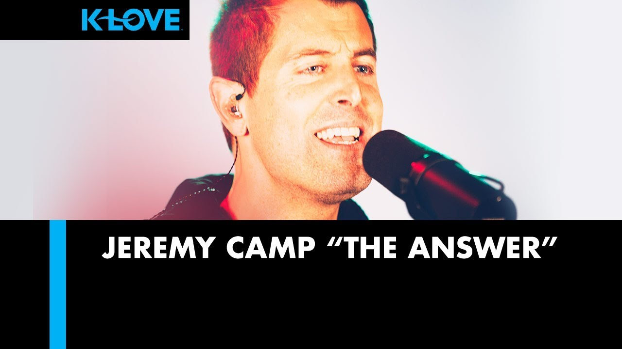 "Jeremy Camp ""The Answer"" LIVE at K-LOVE Radio ????"