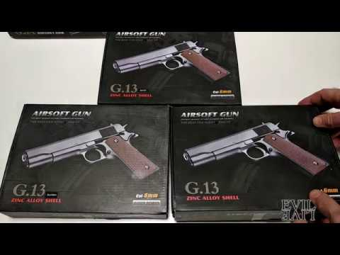 Пистолет Galaxy G.13 - обзор, сравнение, характеристики