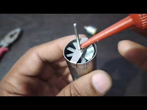How to make Jet engine (mini Jet engine)