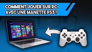 TUTO : JOUER SUR PC AVEC UNE MANETTE PS3 !