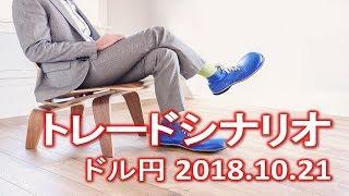 【FX:ドル円 2018.10.21】トレードシナリオ解説