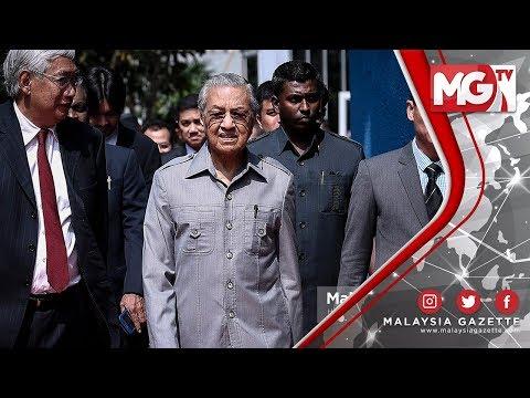 """TERKINI : """"Matawang Global Punca Ringgit Jatuh"""" – Tun Dr. Mahathir Mohamad"""