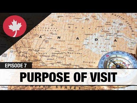 Purpose of Visit - Immigration Real Talk #7