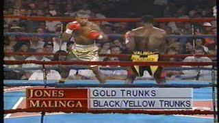 Roy Jones, Jr. vs Thulane Malinga, HBO Program