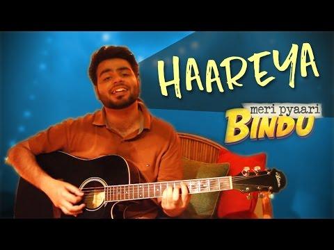 Haareya || Meri Pyaari Bindu || Acoustic Guitar Cover (Arijit Singh & Sachin-Jigar)