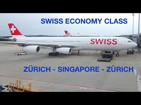 SWISS AIRLINES | NEW SERVICE | ECONOMY CLASS | ZÜRICH - SINGAPORE | BOEING 777 | Spot Check