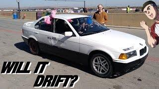 ¿Podré derrapar el BMW E36 con diferencial ABIERTO?