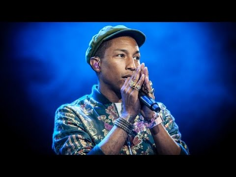 PinkPop Live On Stage Pharrell Williams new song Freedom