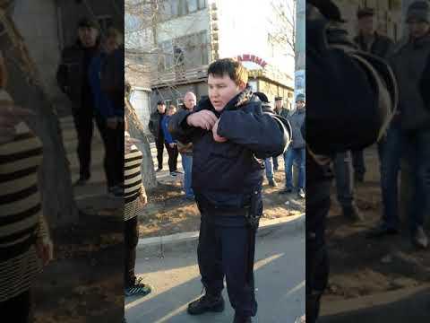 Беспредел полиции в Астрахани 08.03.2019