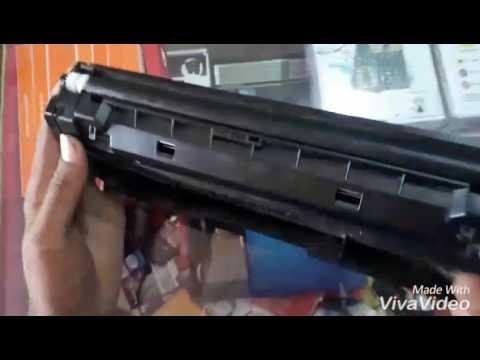 Samsung M 2876ND cartridge refill video